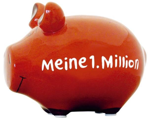 KCG Spardose Schwein klein 100957 Meine 1.Million