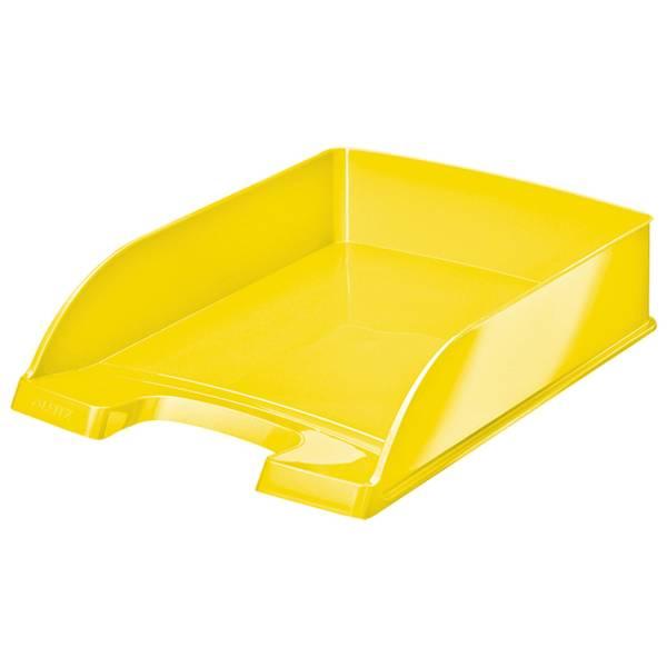 5226 Briefkorb Plus WOW A4, Polystyrol, gelb metallic