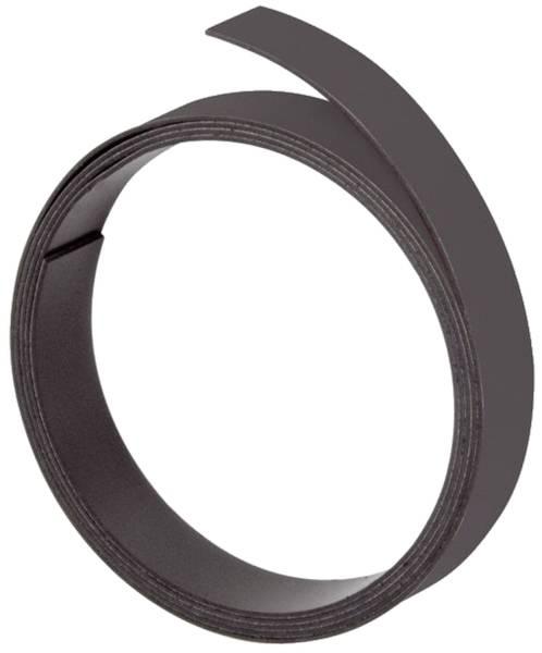 Magnetband, 100 cm x 15 mm, 1 mm, schwarz