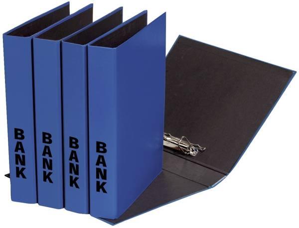 Bankordner A4 blau