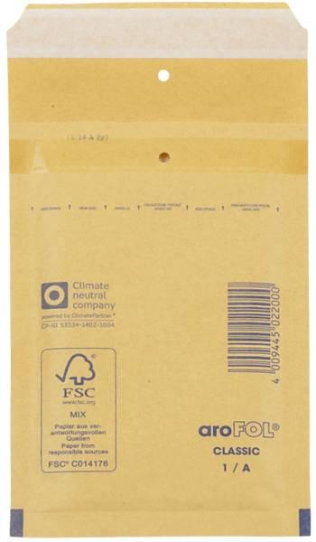 AROFOL Luftpolstertasche 200ST 120x175 braun 1/A 2FVAF000001