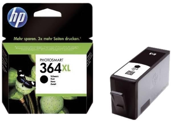 Original Tintenpatrone schwarz (CN684EE,CN684EE#ABB,CN684EE#ABE,CN684EE#BA1,CN684EE#BA3,364XL,364XLB
