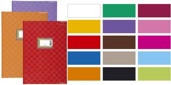 7426 Heftschoner PP A5 gedeckt violett