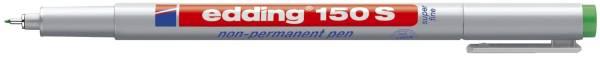 EDDING Folienstift 150S grün 150 004 non permanent