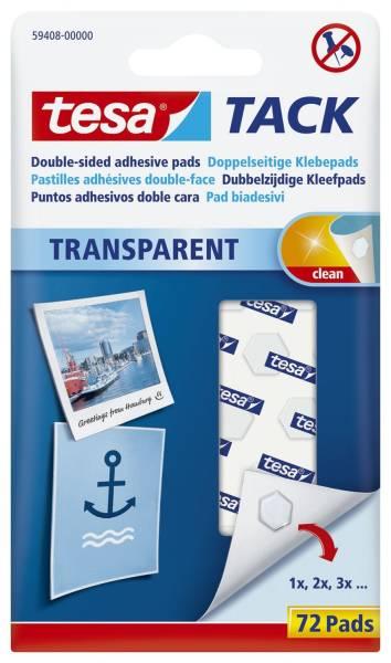TESA Klebestrips Tack 72ST transparent 59408-00000-01