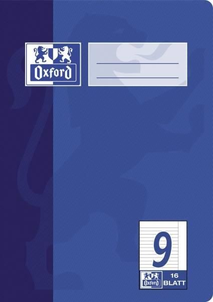 Heft A5 16 Blatt Lineatur 9