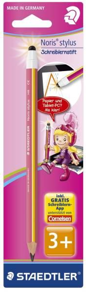 Bleistift Noris stylus Schreiblernbleistift Jumbo mit Stylus Funktion®