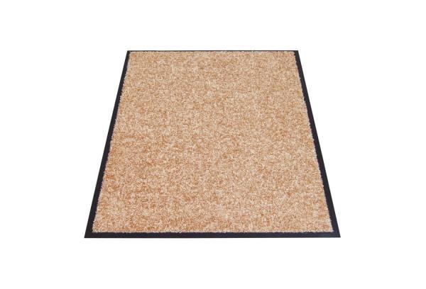 Eazycare Schmutzfangmatte für Innen, 60 x 90 cm, beige, waschbar