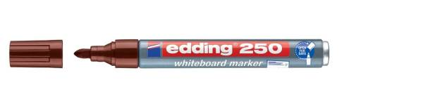 250 Boardmarker nachfüllbar, 1,5 3 mm, braun