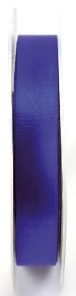Doppelsatinband 15 mm x 25 m, königsblau