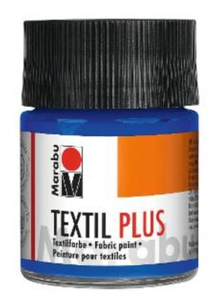 Textil plus Ultramarinblau dunkel 055, 50 ml