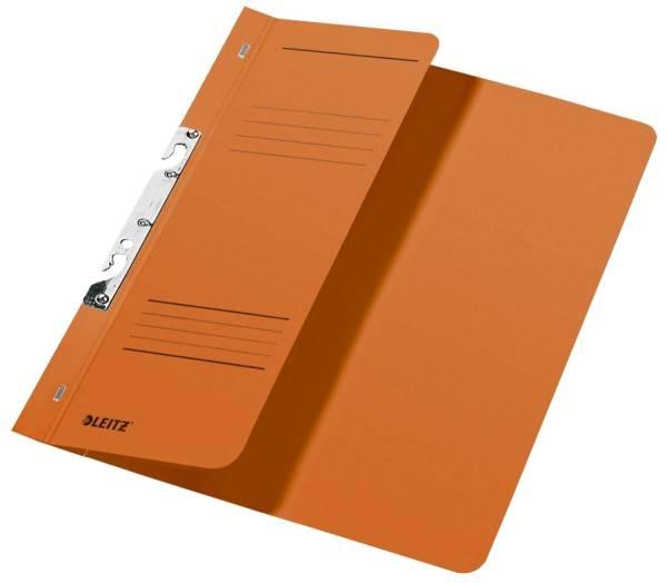 LEITZ Schlitzhefter A4 orange 3744-00-45 halber Deckel