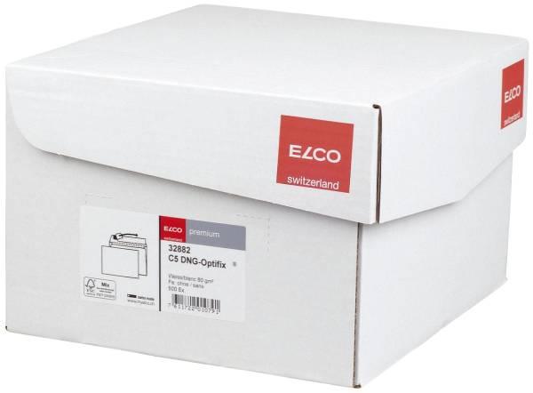 Briefumschlag Office Box mit Deckel C5, weiß, haftklebend, ohne Fenster, 80 g qm, 500 Stück