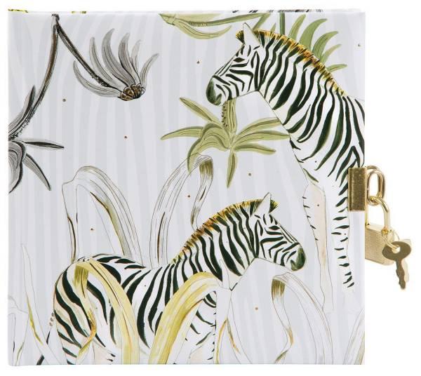 TURNOWSKY Tagebuch Wild Life Zebra 44 432 16.5x16.5 cm