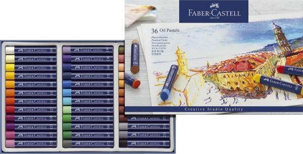 Creative Studio Ölpastellkreide 36 Farben sortiert im Kartonetui