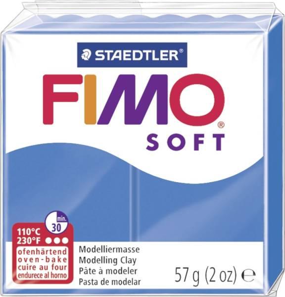 STAEDTLER Modelliermasse Fimo pazifikblau 8020-37 Soft 57g