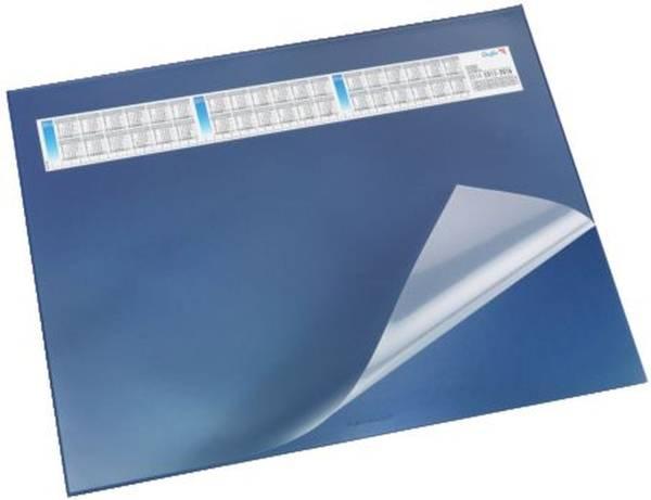 Schreibunterlage DURELLA DS mit Vollsichtauflage, Kalender, 65 x 52 cm, blau