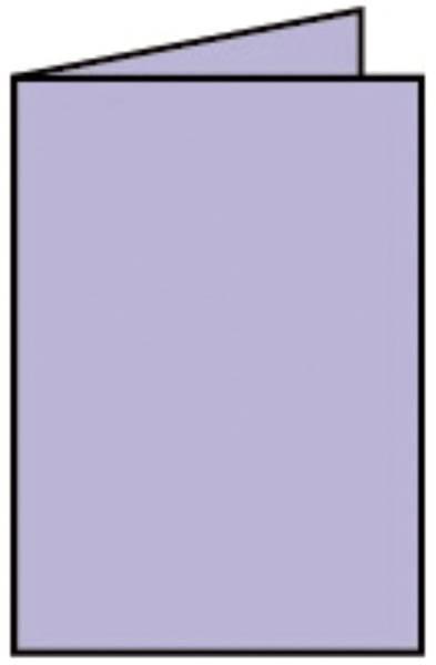 Coloretti Doppelkarte A6 hoch, 5 Stück, lavendel