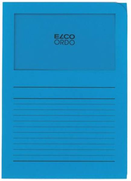 ELCO Ordo Mappe Classico 10ST 120g int.blau 73695.32