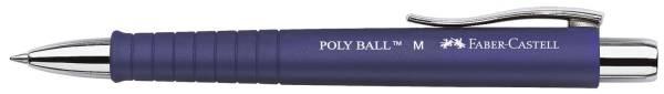 Kugelschreiber Poly Ball M, dokumentenecht, blau