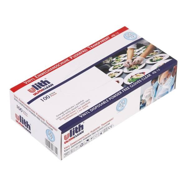 Einmalhandschuhe Vinyl weiß Gr.L 47000310 100St