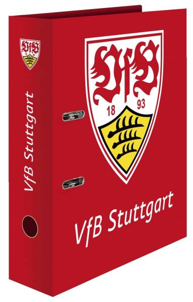 Ordner A4 VfB Suttgart rot