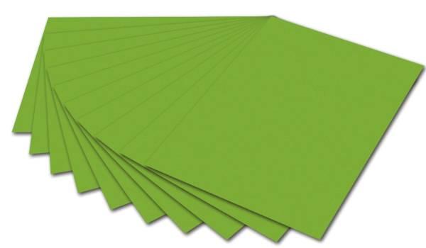 Fotokarton A4, 300 g qm, grün, 50 Blatt