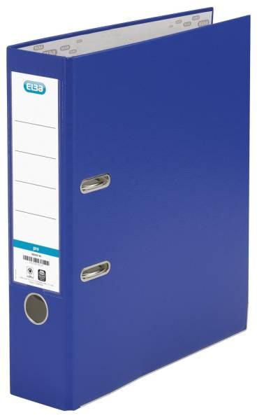 Ordner smart Pro (PP Papier) A4, 80 mm, blau