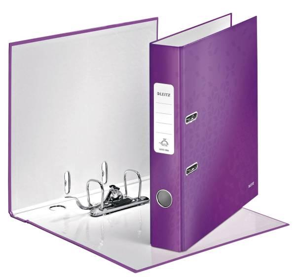 LEITZ Ordner A4 5cm Wow violett met. 1006-00-62