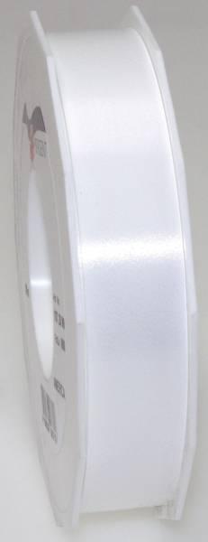 Ringelband Polyspleissband 25 mm x 91m, weiß