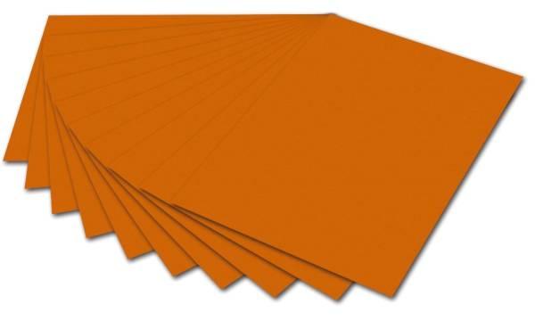 Tonpapier 50 x 70 cm, hellorange