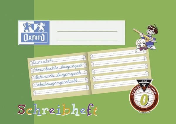 Schreiblernheft, A5 quer 0, 16, robuster, abwischbarer Deckel