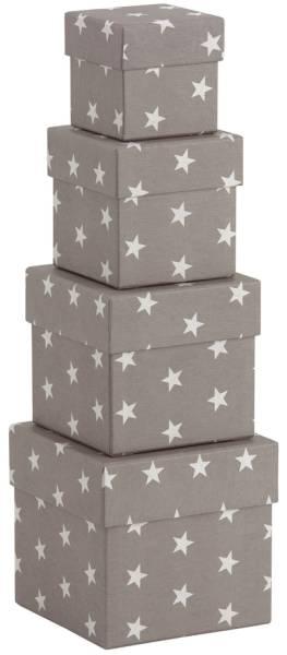 RÖSSLER Geschenkkarton Stella grau 13421187004 4tlg