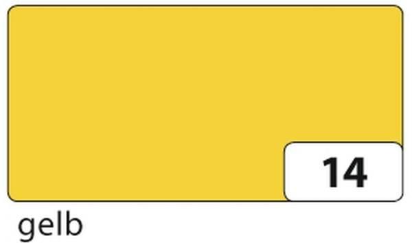 Transparentpapier gelb, 50,5 cm x 70 cm, 115 g qm