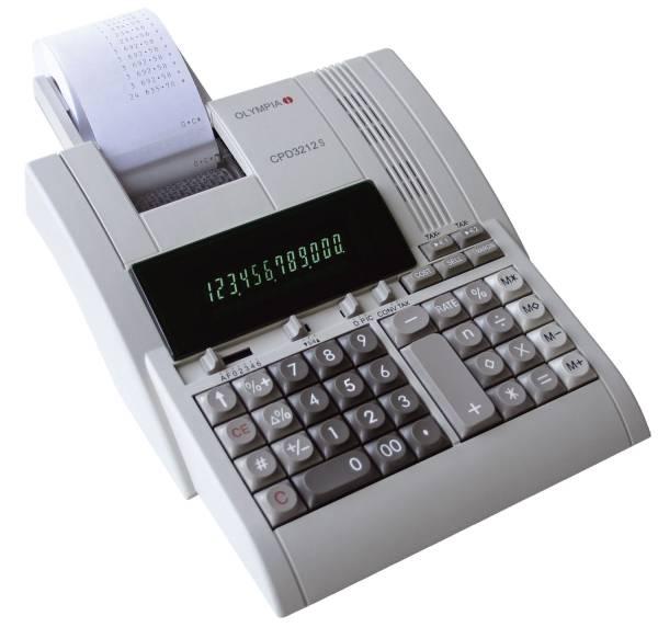OLYMPIA Tischrechner CPD3212S CPD3212S 203x206x55mm