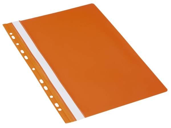 DONAU Schnellhefter PVC A4 orange 1704001-12 Multiloch