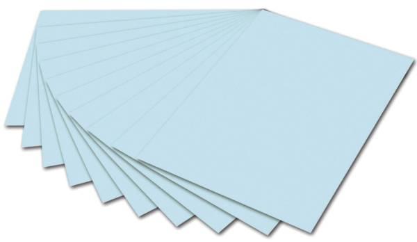 FOLIA Tonpapier 50x70cm eisblau 6739E 130 g