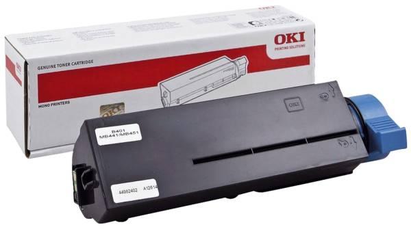 OKI Lasertoner schwarz 44992402