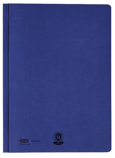 ELBA Hefter Zweifalz A4 blau 100421220 Manilakarton