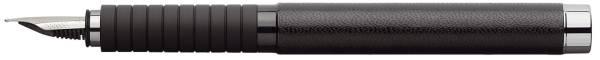 Füller EF Leder schwarz