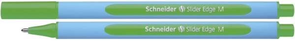 Kugelschreiber Slider Edge Kappenmodell, M, grün