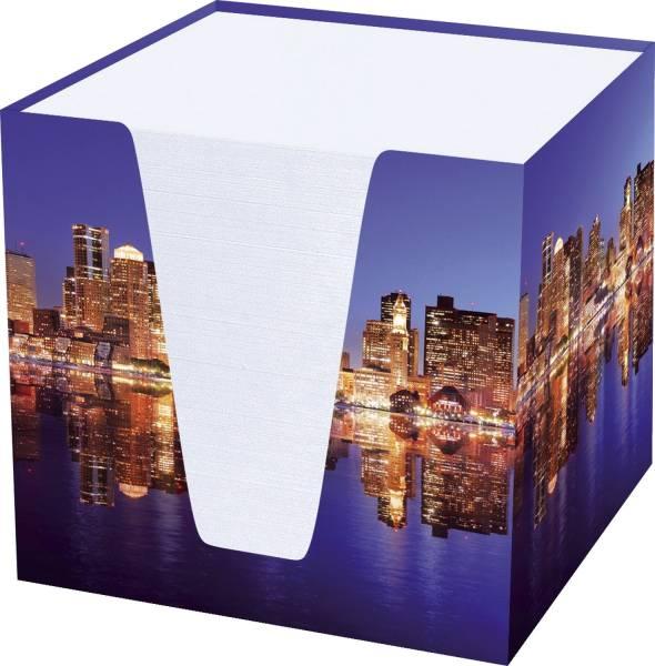 """Notizklotz """"Skyline"""" 900 Blatt, 70 g qm, weiß, 95 x 95 x 95 mm"""