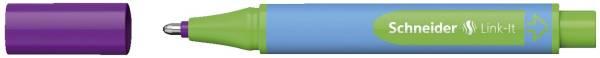 SCHNEIDER Kugelschreiber Slider Link-It violett 154508
