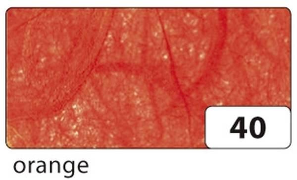 Strohseide 47 x 64 cm, orange