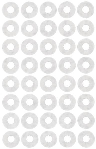 3027 Schule Verstärkungsring Kleinpckg weiß Papier selbstklebend 4 Bögen 160 Etik