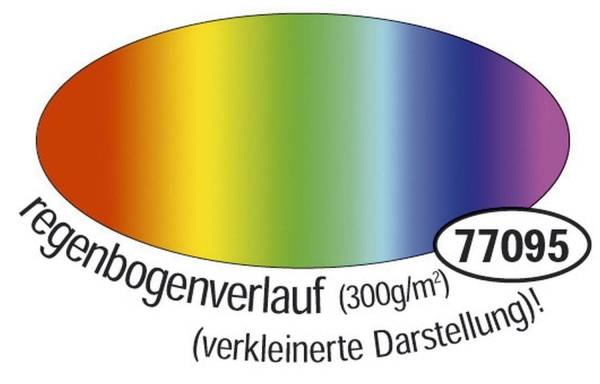 Fotokarton 49 x 68 cm, Regenbogen