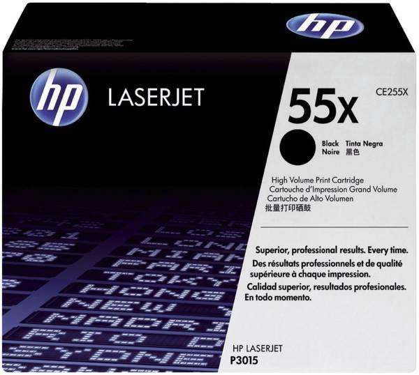 HP Lasertoner Nr. 55X schwarz CE255X