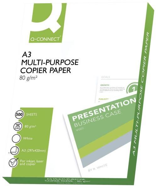 Kopierpapier ECF A3, 80 g qm, 500 Blatt