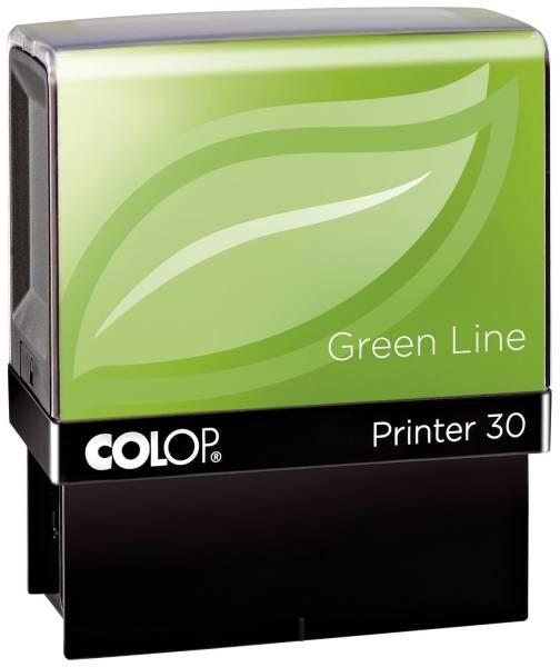 Printer 30 Green Line max 5 Zeilen, 18 x 47 mm