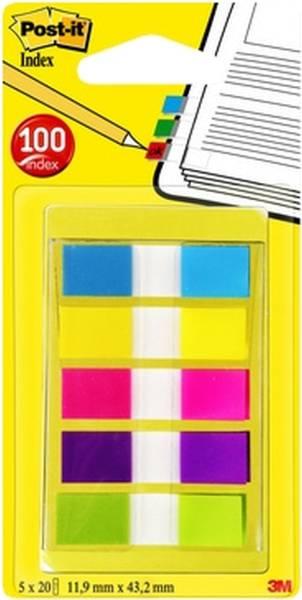 POST-IT Index Mini 12x43 Leuchtfarben 6835CBEU